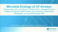 W27: INF/MIC: Microbial Ecology of CF Airways